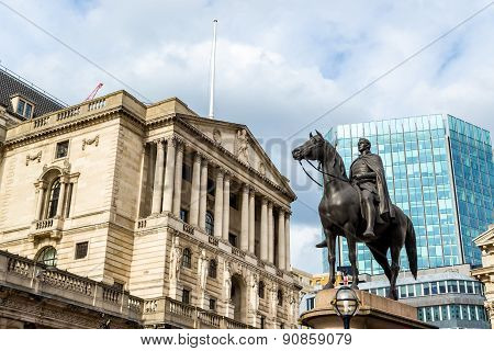 Equestrian Statue Of Wellington In London - England