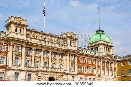 Old Admiralty Building In The City Centre Of London - England