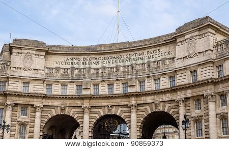 Admiralty Arch, A Landmark Building In London