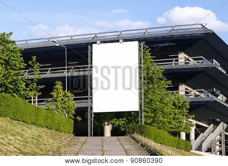 Vertical Blank Outdoor Billboard