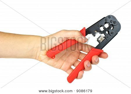 Hand Holding Crimping Cutting Tool