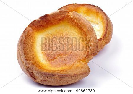 two yorkshire puddings