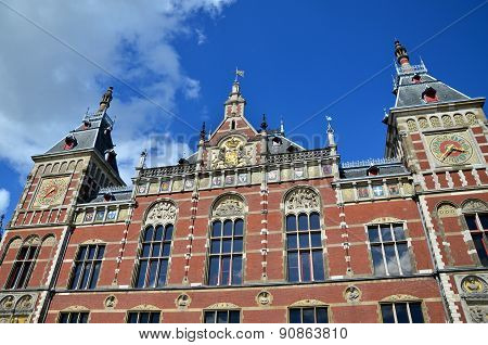 Amsterdam Centraal, The Famous Central Railway Station