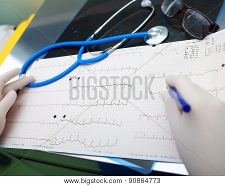 Medical Diagnostic Tools In The Doctor's Office