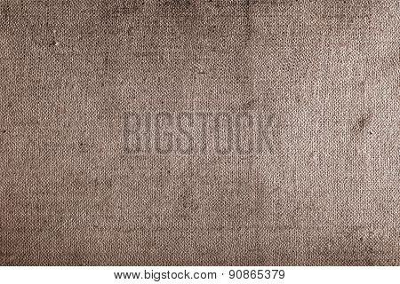 Old Obsolete Fabric Textured Background Close-up