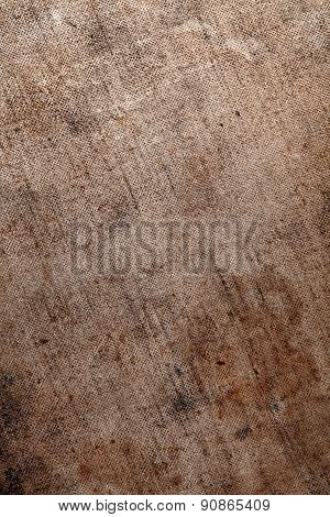 Obsolete Dirty Fabric Background Close-up