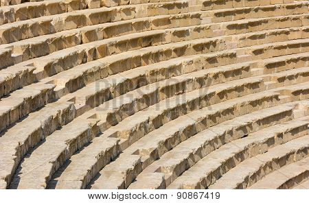 Ancient Jerash Jordan Theater Steps