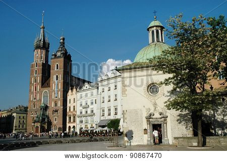 Old Town Of Krakow City, Poland