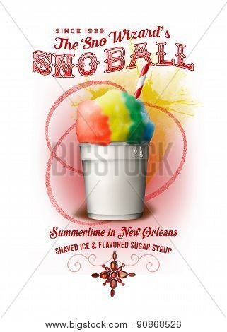 Snow Ball Iced Drink NOLA Collection