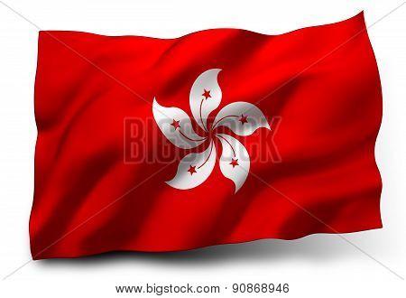 Flag Of Honk Kong