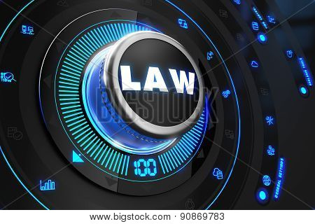 Law Controller on Black Control Console.