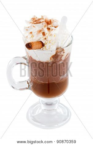 Special Hot Choco With Cream