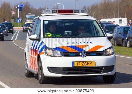 Police Volkswagen Touran