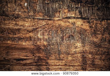 Putrescency Texture Wooden Surface