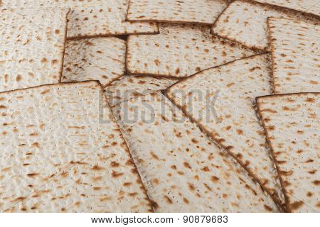 Matzot Close-up
