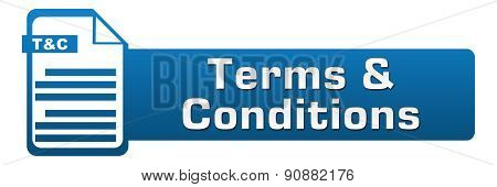 Terms And Conditions File Icon Horizontal