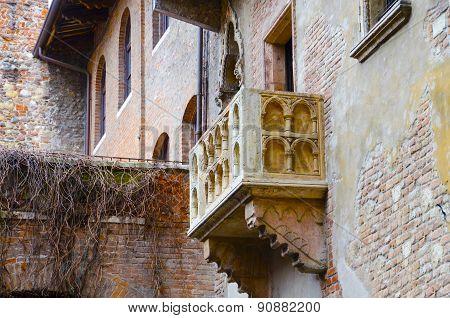 Romeo and Juliet's balcony, Verona