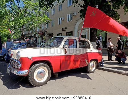 Soviet Economy Retro Car Of 1960S Sedan Moskvitch 407 (scaldia)