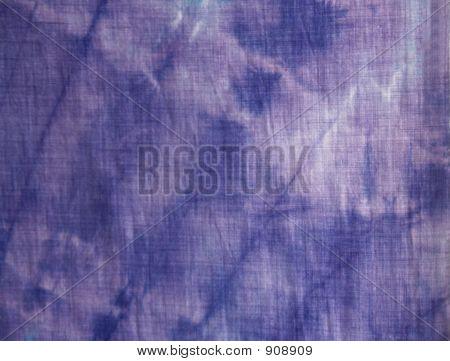 Purple Tie-Dye Closeup
