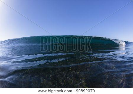 Wave Reef Crashing Water