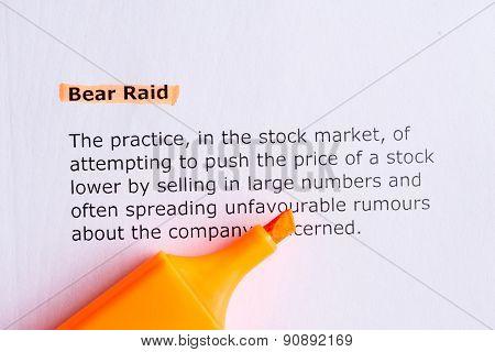 Bear Raid