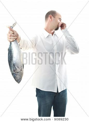 Man With Smelly Fish