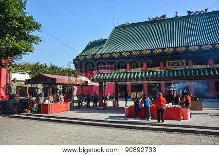 Che Kung Temple In Hong Kong, China