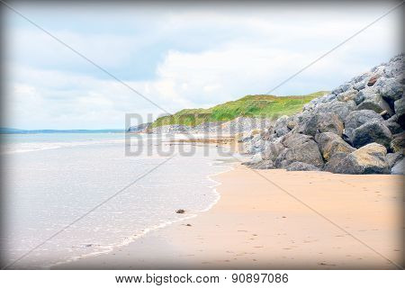 Beach Beside The Links Golf Course