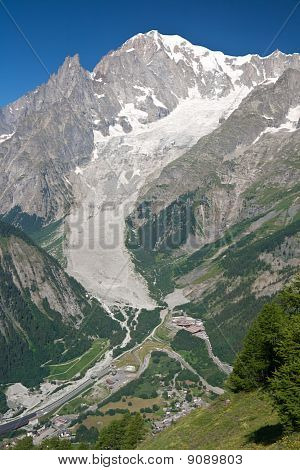 Mont Blanc - Vertical