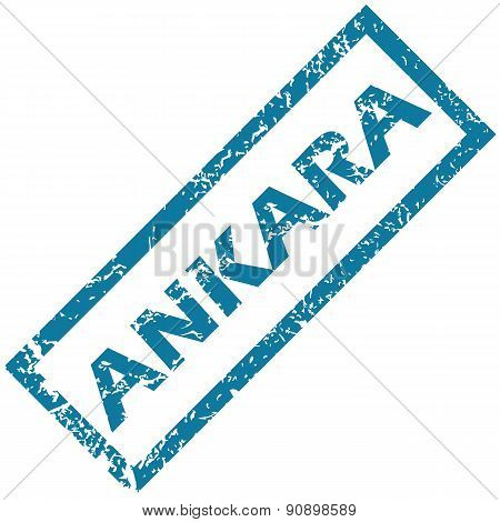 Ankara rubber stamp