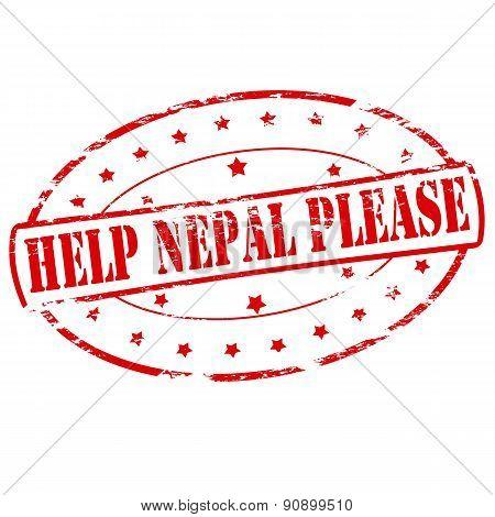 Help Nepal please