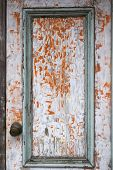Vintage Painted Door