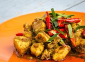 pic of curry chicken  - Close  - JPG