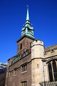 picture of church-of-england  - All Hallows by the Tower is an ancient church dating back to Saxon times - JPG