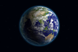 picture of planet earth  - beautiful planet earth - JPG