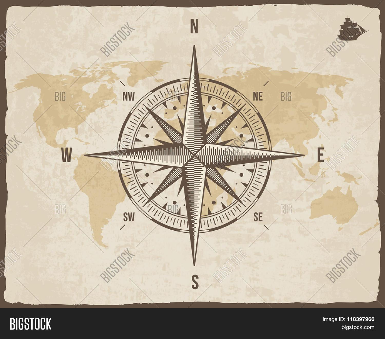 Nautical Compass Logo