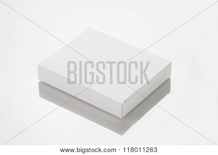 White Paper / Card Box For Mockup