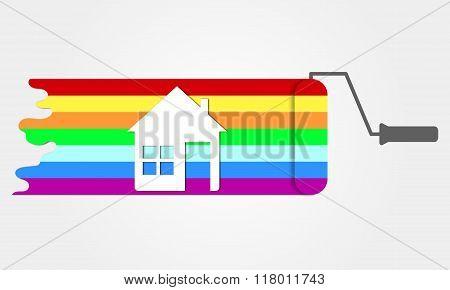 House Renovation Icon.