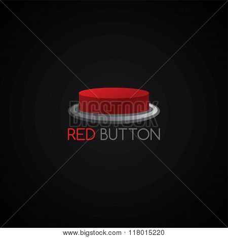 Red Button Template