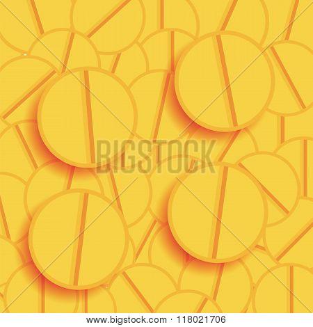 Set of Yellow Pills