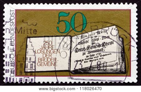 Postage Stamp Germany 1980 Daily Bible Readings