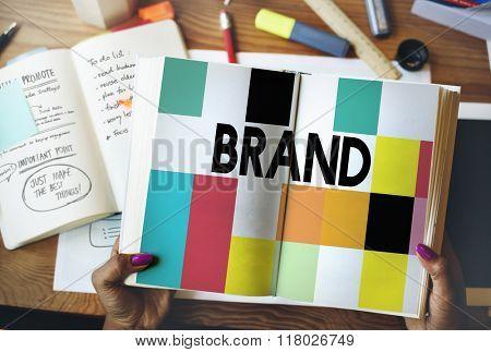 Brand Branding Marketing Advertising Trademark Concept