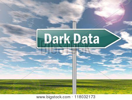 Signpost Dark Data