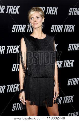 Heidi Klum at the Los Angeles Premiere of