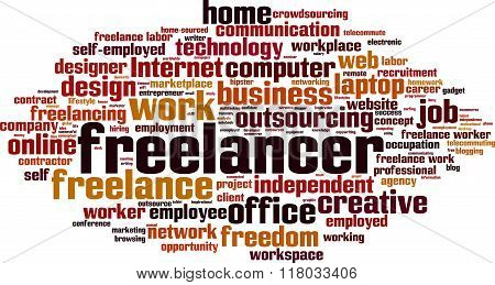 Freelancer Word Cloud