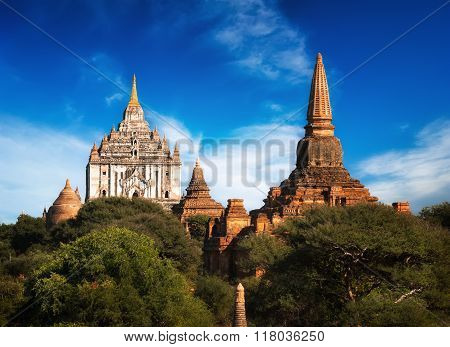 Ancient Ananda Temple At Bagan. Myanmar (burma)