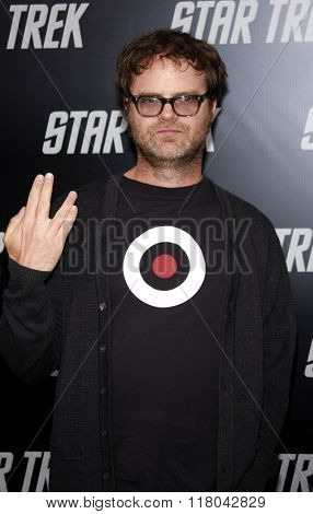 Rainn Wilson at the Los Angeles Premiere of