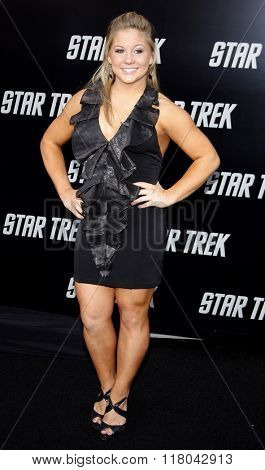 Shawn Johnson at the Los Angeles Premiere of