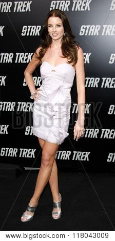 Rachel Nichols at the Los Angeles Premiere of