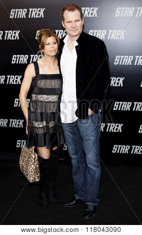 Beth Toussaint and Jack Coleman at the Los Angeles Premiere of